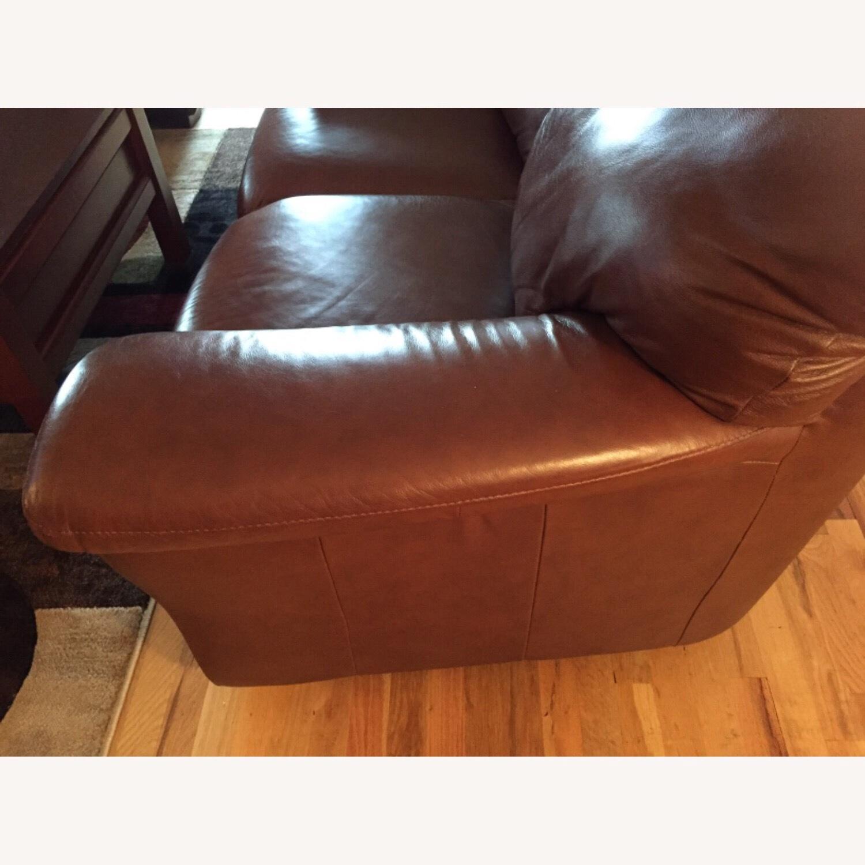 Italiana Divani Chateau dAx Leather Sofa - image-4