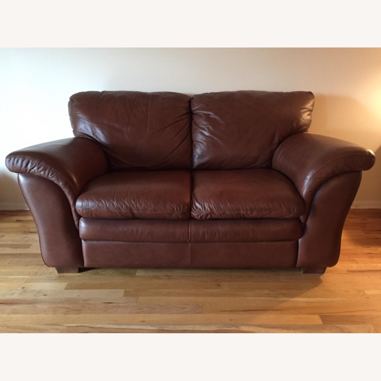 Italiana Divani Chateau dAx Leather Sofa - image-0