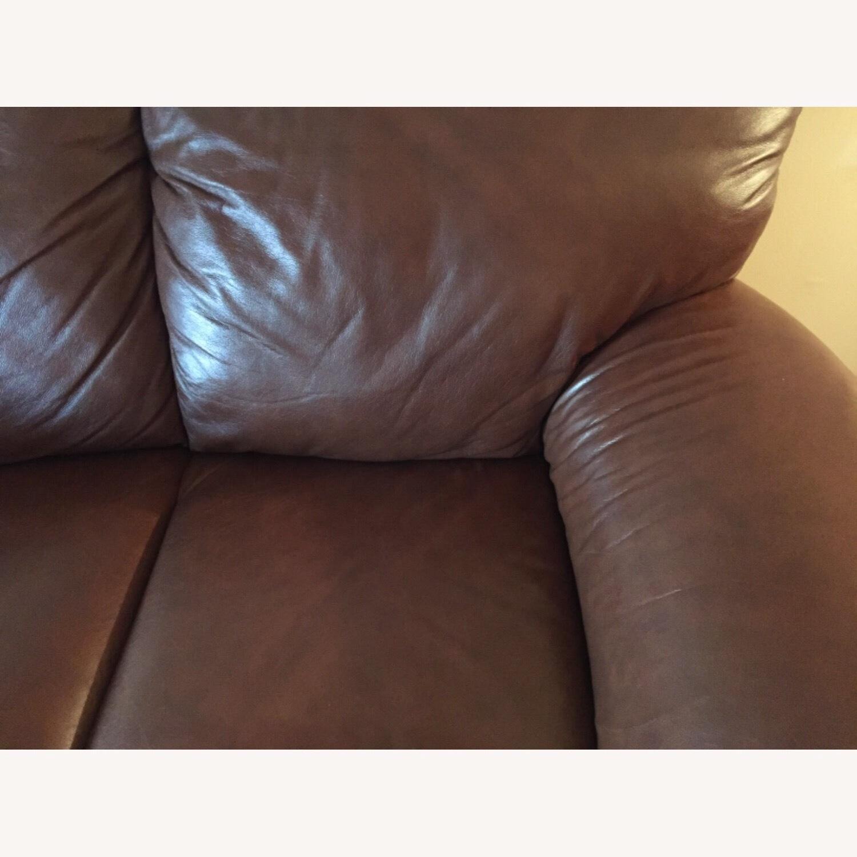 Italiana Divani Chateau dAx Leather Sofa - image-3
