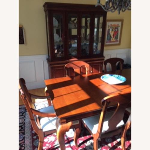 Used Ellis Brothers Dinnig Room Set in Solid Cherry Wood for sale on AptDeco