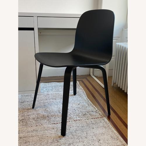 Used Muuto Visu Chair with Wood Base in Black for sale on AptDeco