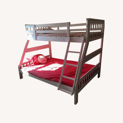 Used Houzz Twin Over Full Bunk Bed for sale on AptDeco
