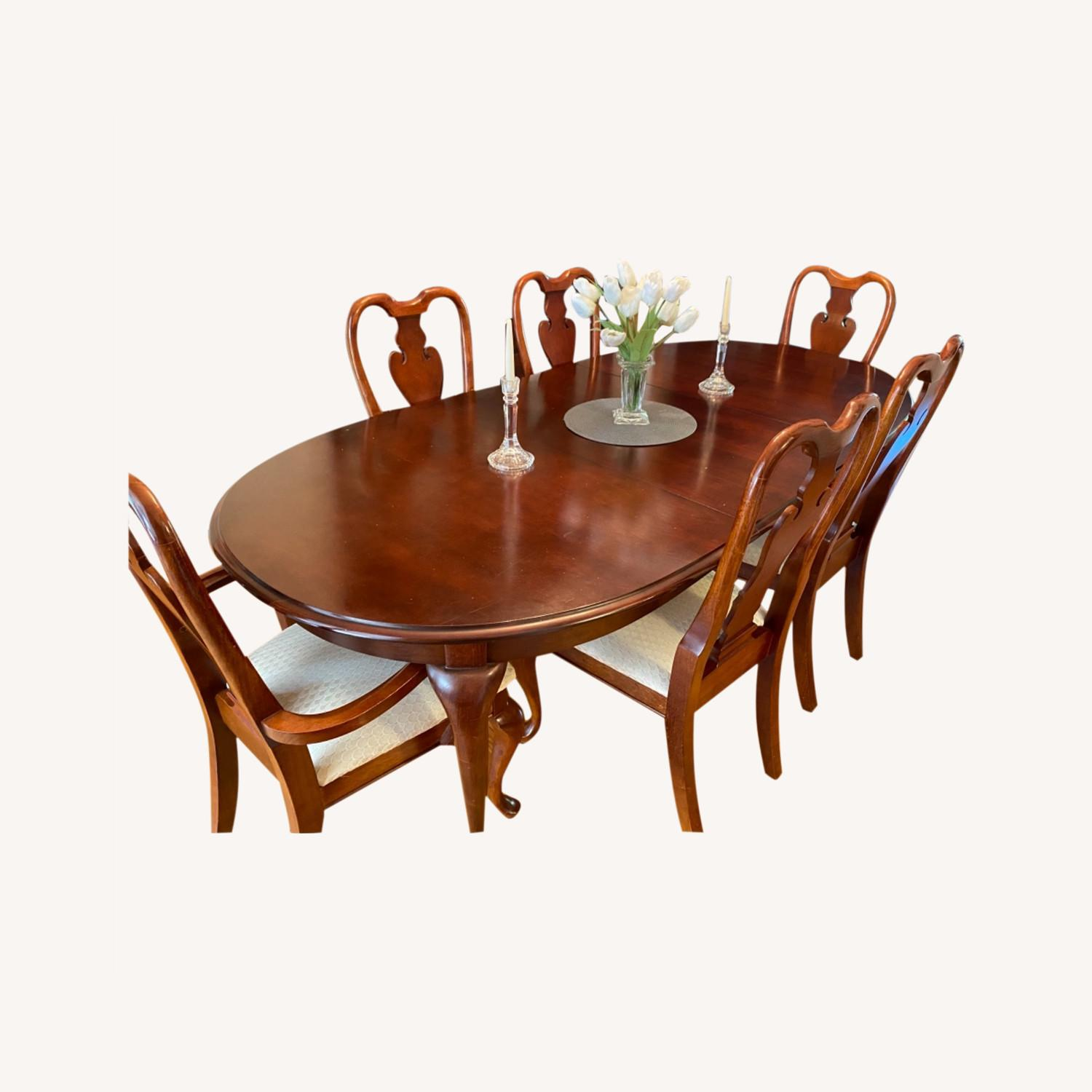 American Drew Dining Table Set - image-0
