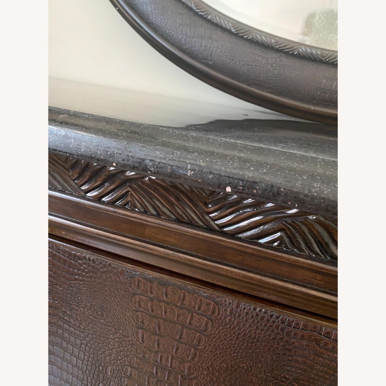 American Drew Granite Top Sideboard - image-3