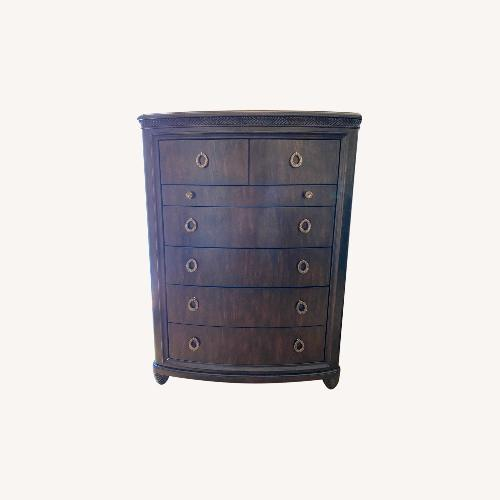 Used American Drew Tall Chest Drawer with Jewelry Compartment for sale on AptDeco