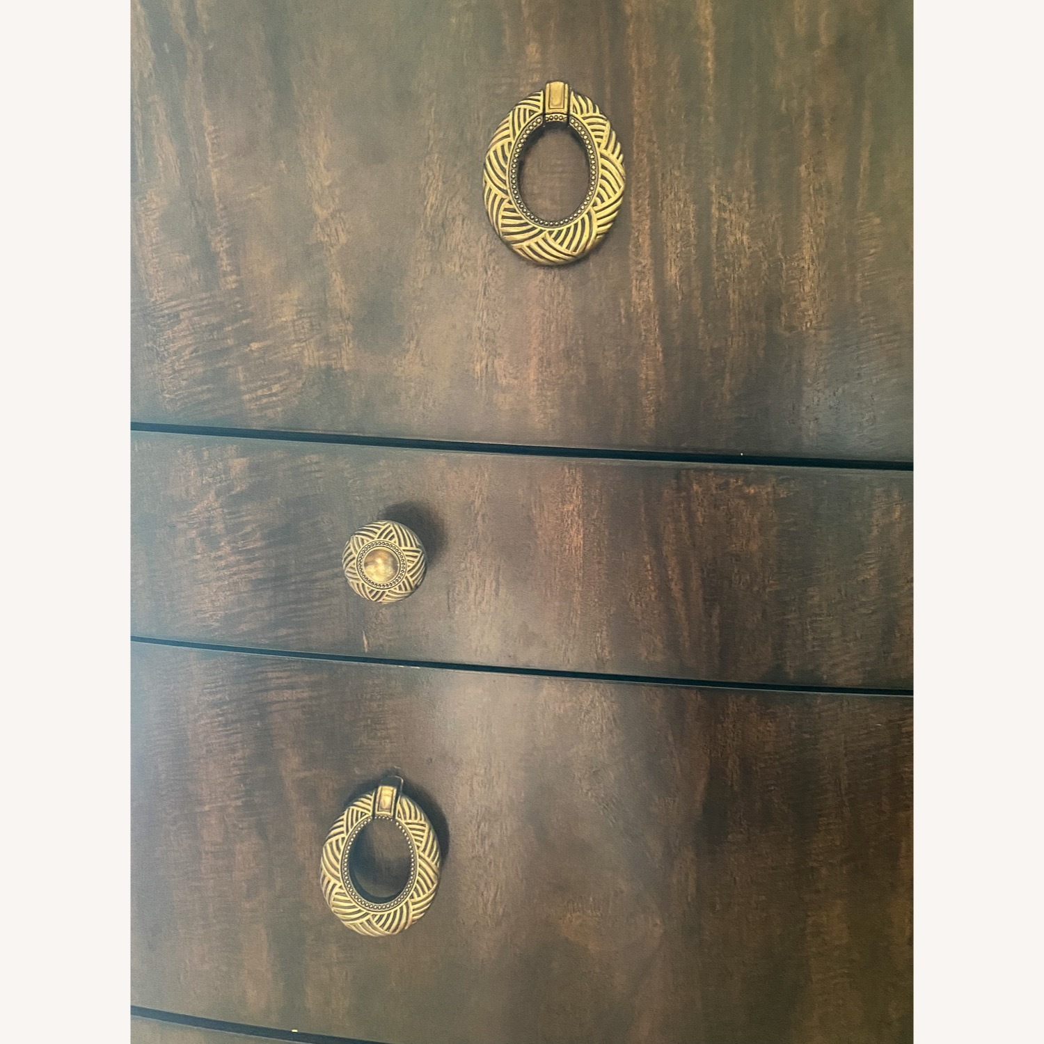 American Drew Tall Chest Drawer with Jewelry Compartment - image-4