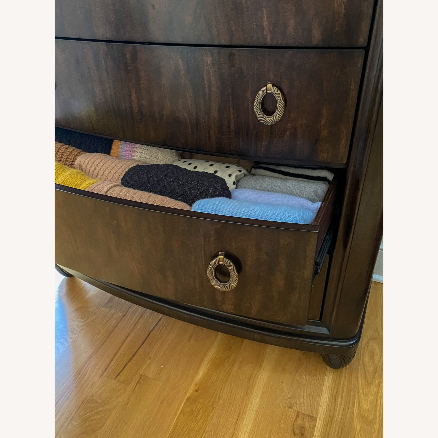 American Drew Tall Chest Drawer with Jewelry Compartment - image-7