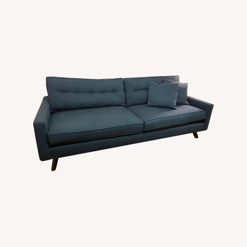 Used Thrive Furniture Mid Century Modern Sofa in Peacock for sale on AptDeco