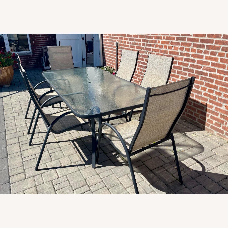 Outdoor Aluminum 7-Pc. Dining Set - image-1