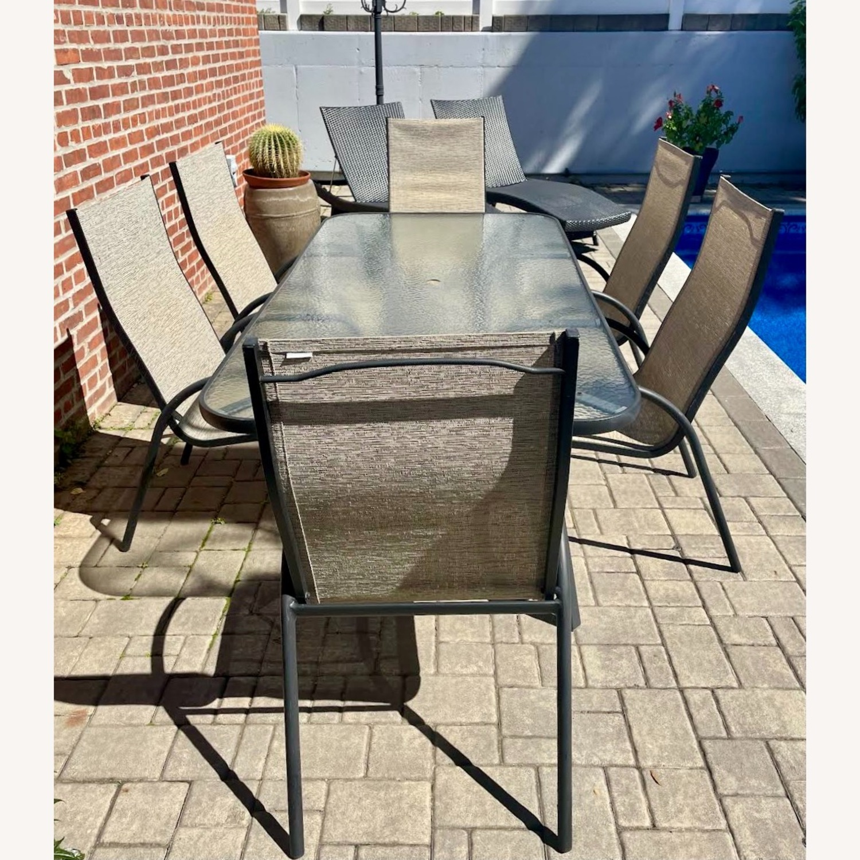 Outdoor Aluminum 7-Pc. Dining Set - image-2