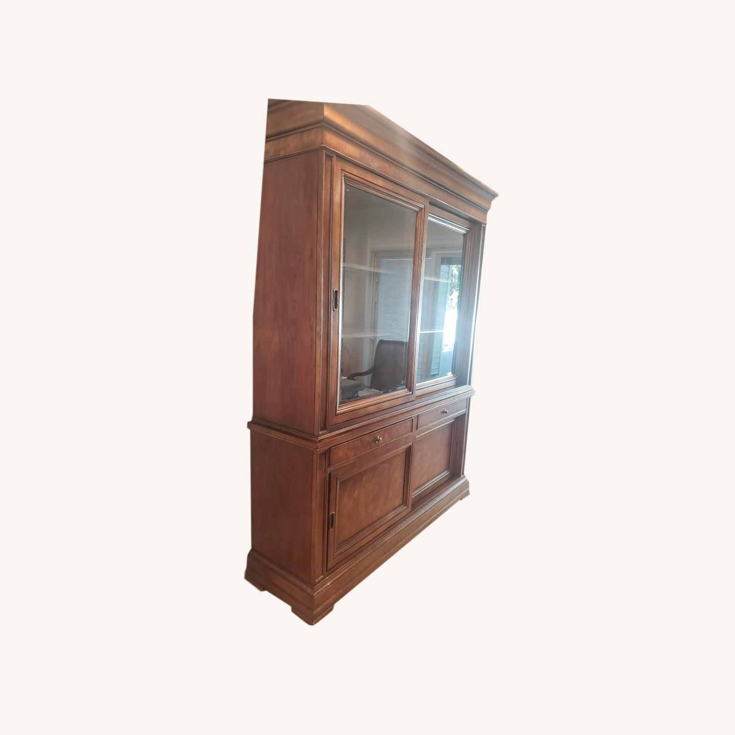 Ethan Allen Townhouse China Cabinet - image-0