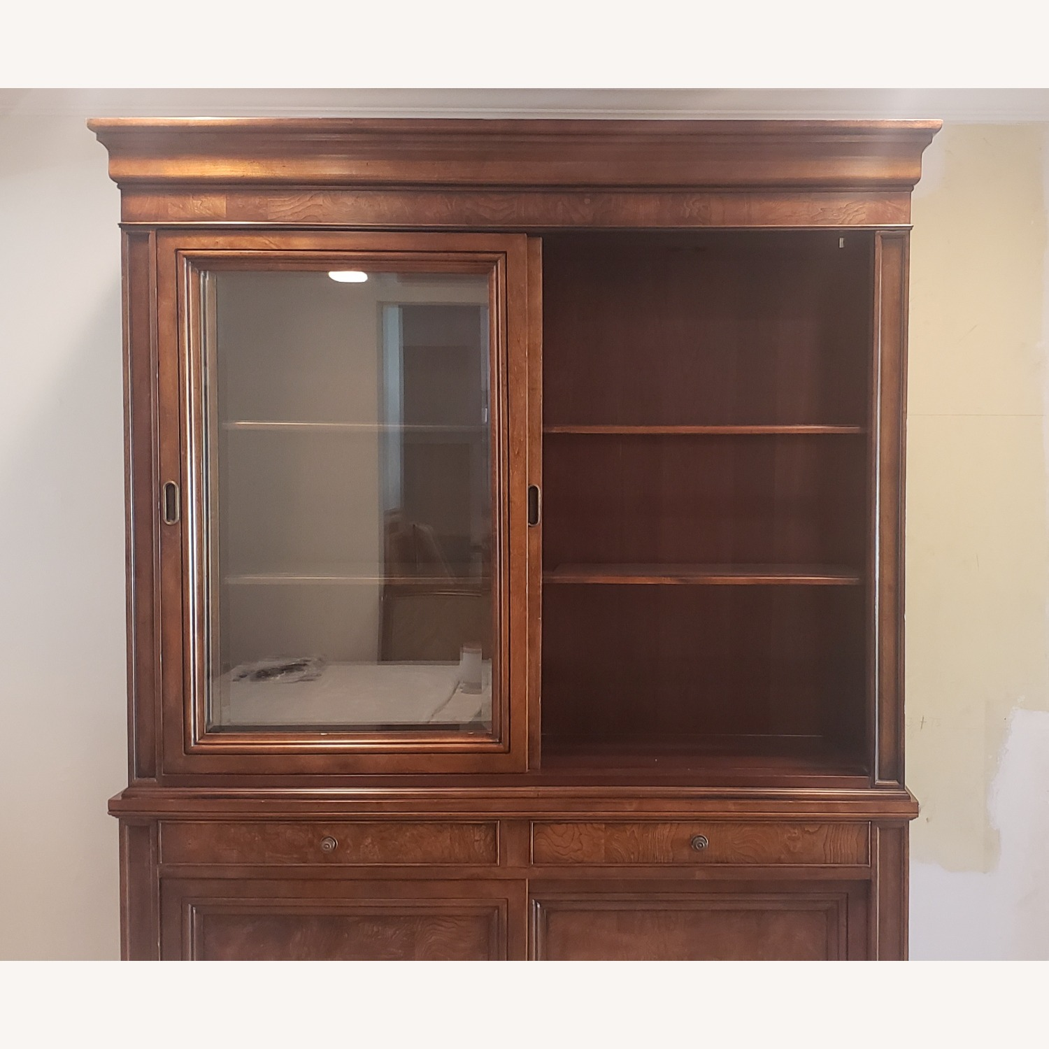 Ethan Allen Townhouse China Cabinet - image-1