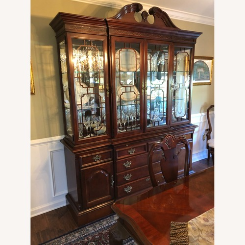Used Stanley Furniture Breakfront with Lighting for sale on AptDeco
