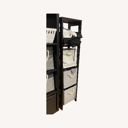 Used Winsome Wood Espresso Shelving for sale on AptDeco