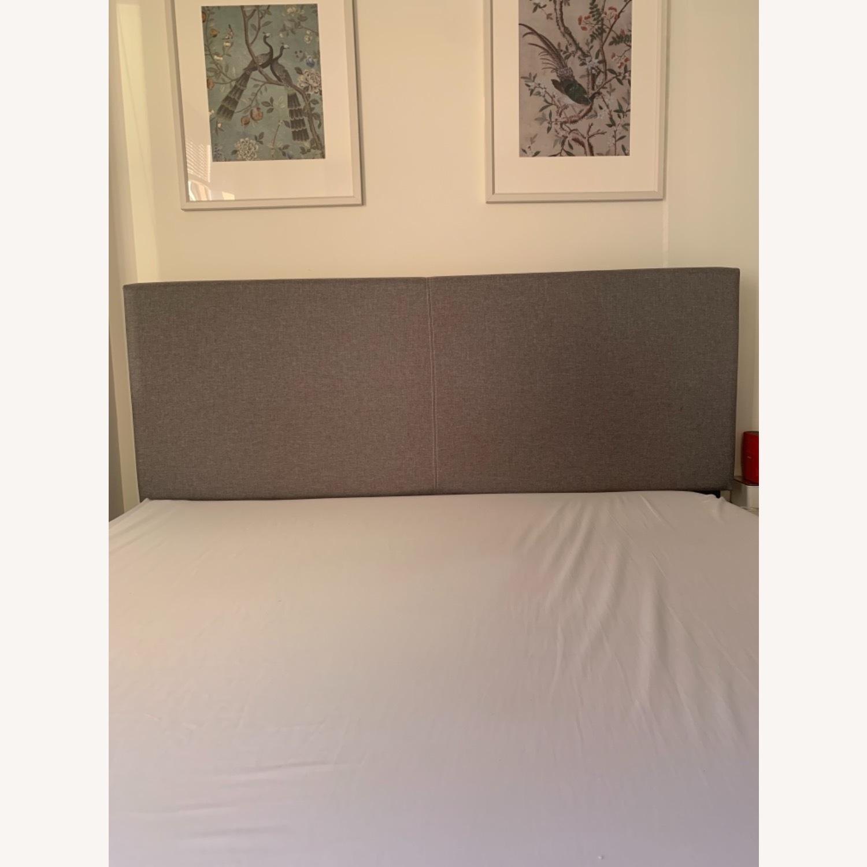 Wayfair Grey Queen Bed with Storage - image-3