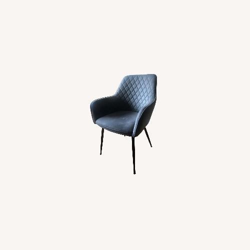 Used Walmart Tub Chairs, Set of 2, Grey for sale on AptDeco