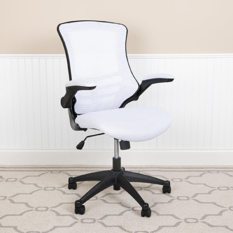 Wayfair White Office Chair - image-4