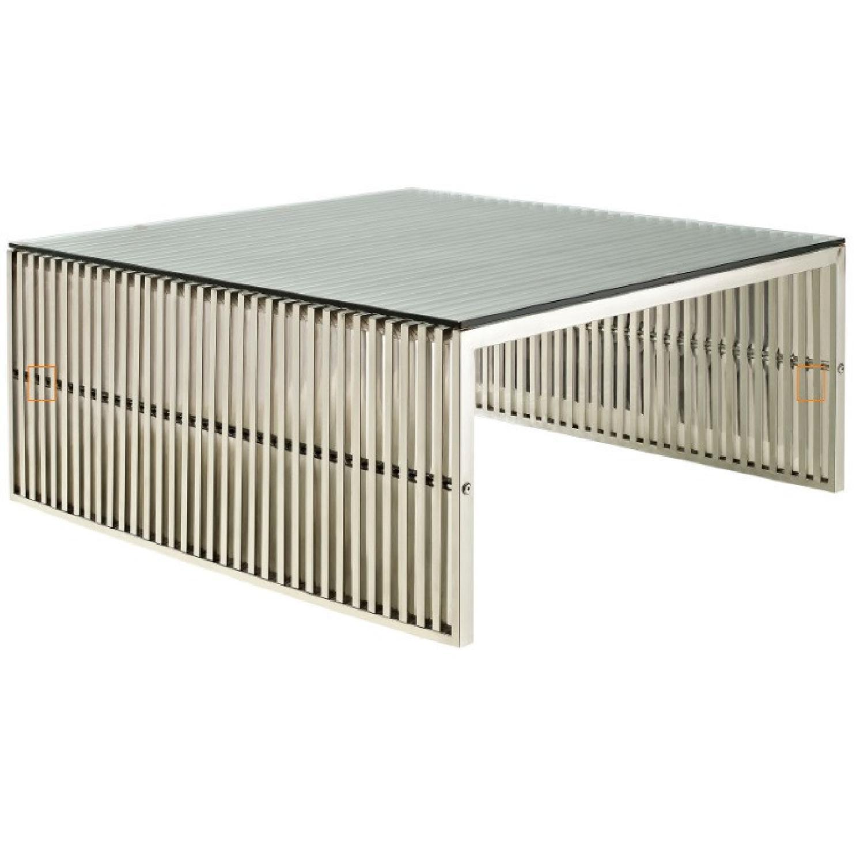 Modway Modern Gridiron Coffee Table - image-4