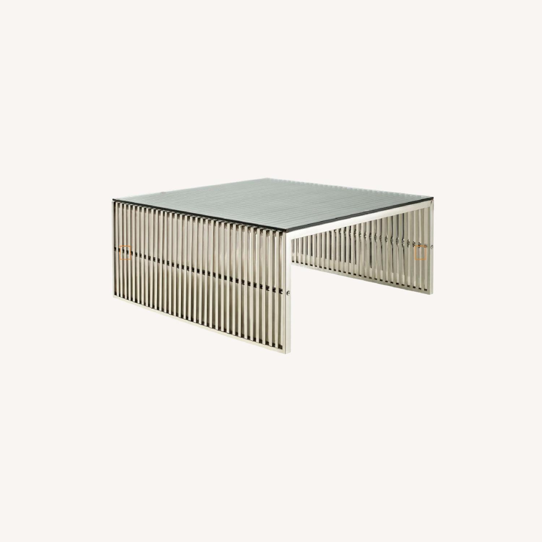 Modway Modern Gridiron Coffee Table - image-0