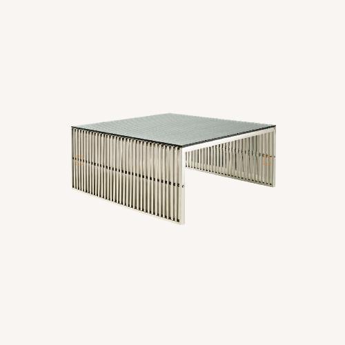 Used Modway Modern Gridiron Coffee Table for sale on AptDeco