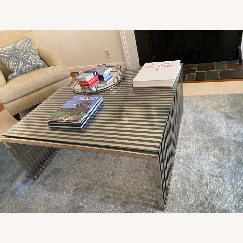 Modway Modern Gridiron Coffee Table - image-2