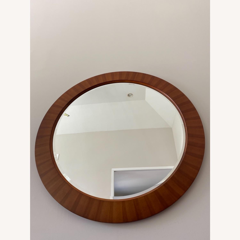 Ethan Allen Round 40 Mirror - image-1