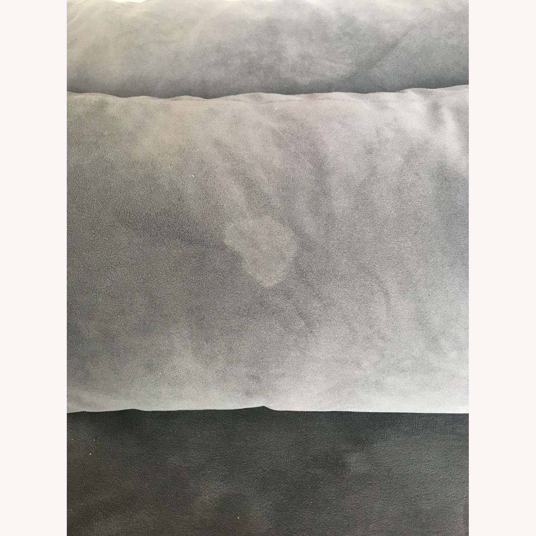 West Elm Custom 3 Piece Velvet Sectional - image-4