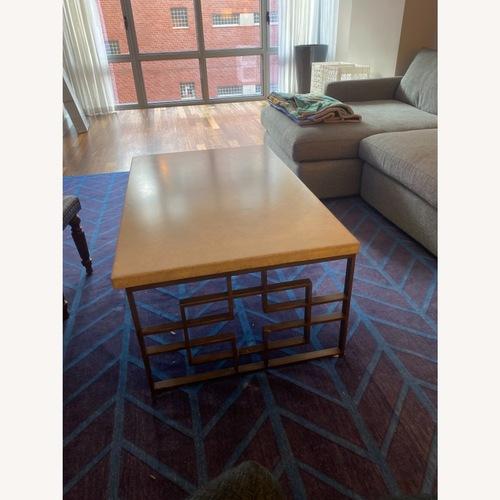 Used Taylor Made Custom Stone Coffee Table for sale on AptDeco