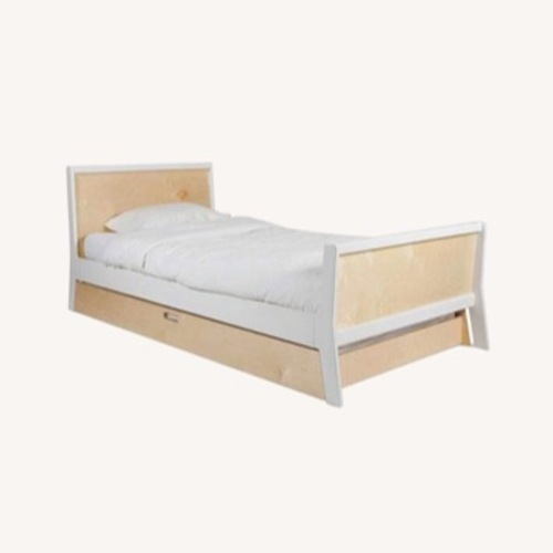 Used Oeuf Sparrow Twin Trundle Bed for sale on AptDeco