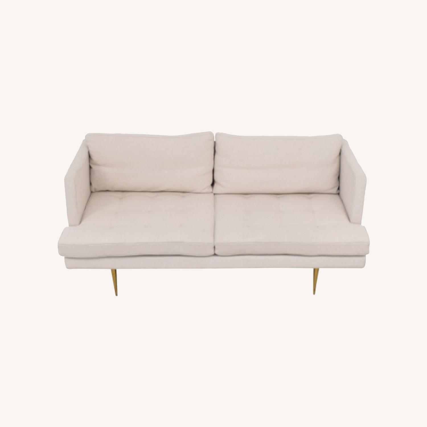 Organic Modernism Siena Loveseat Couch - image-0