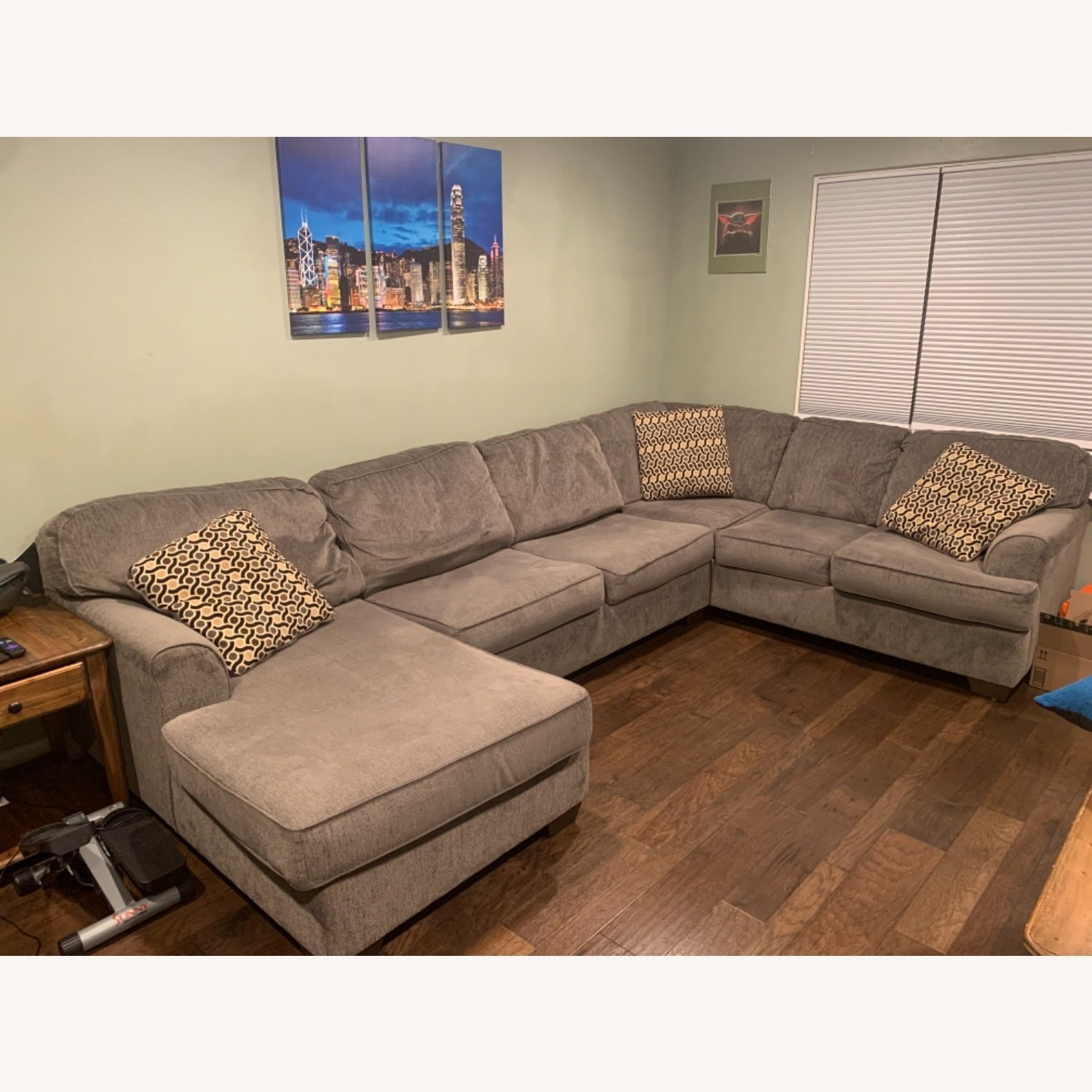 Living Spaces 3 Piece Sectional - image-2