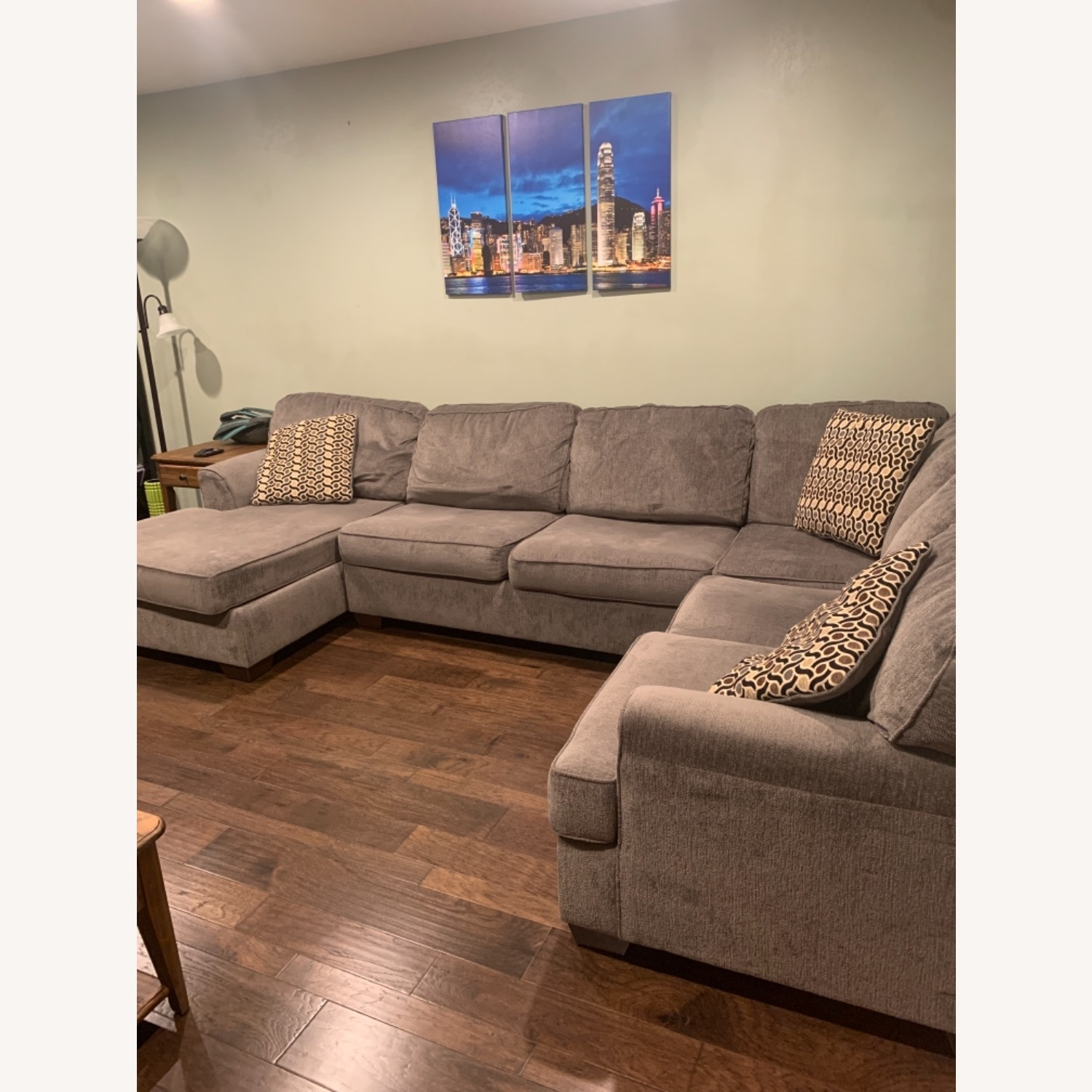 Living Spaces 3 Piece Sectional - image-3