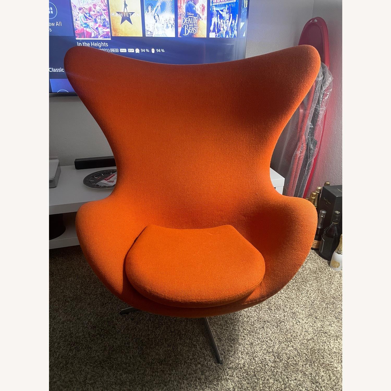 Fritz Hanson Egg Chair - image-1