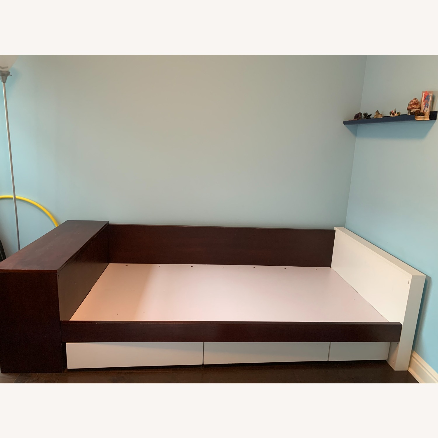 Twin Bed - Great Design - Built in Storage - image-3