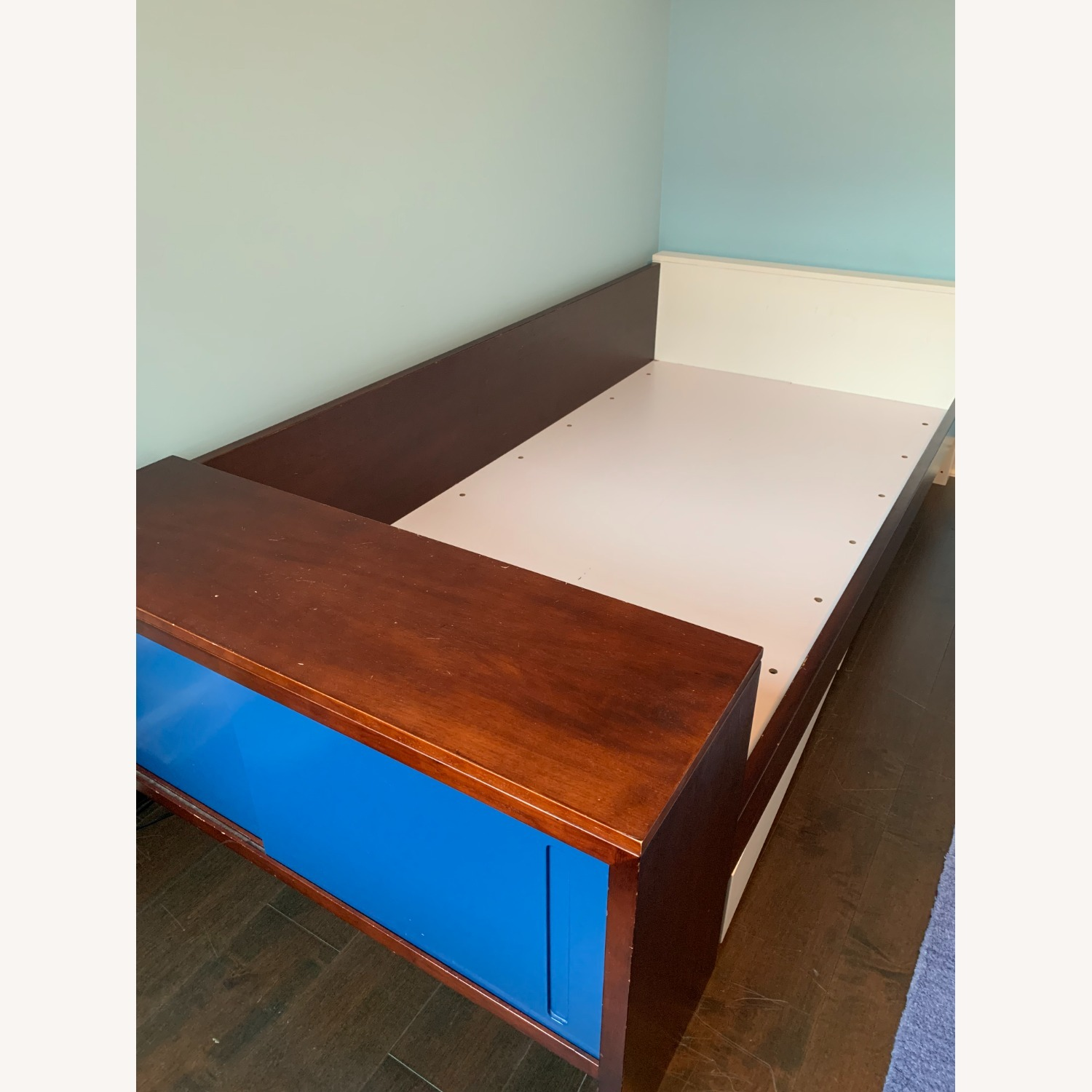 Twin Bed - Great Design - Built in Storage - image-1
