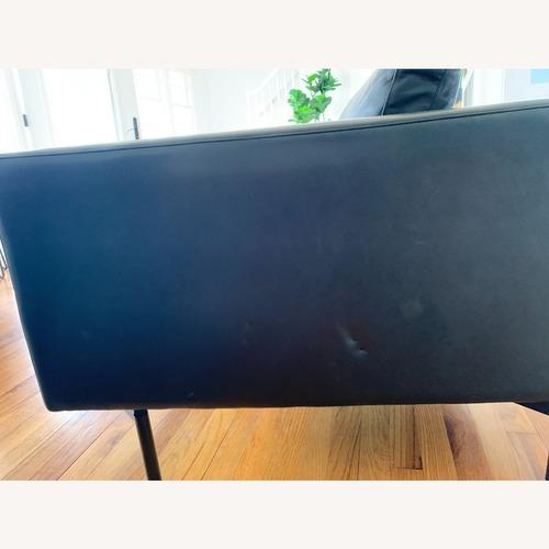 Used Blu Dot Black Leather Lounge Chair for sale on AptDeco