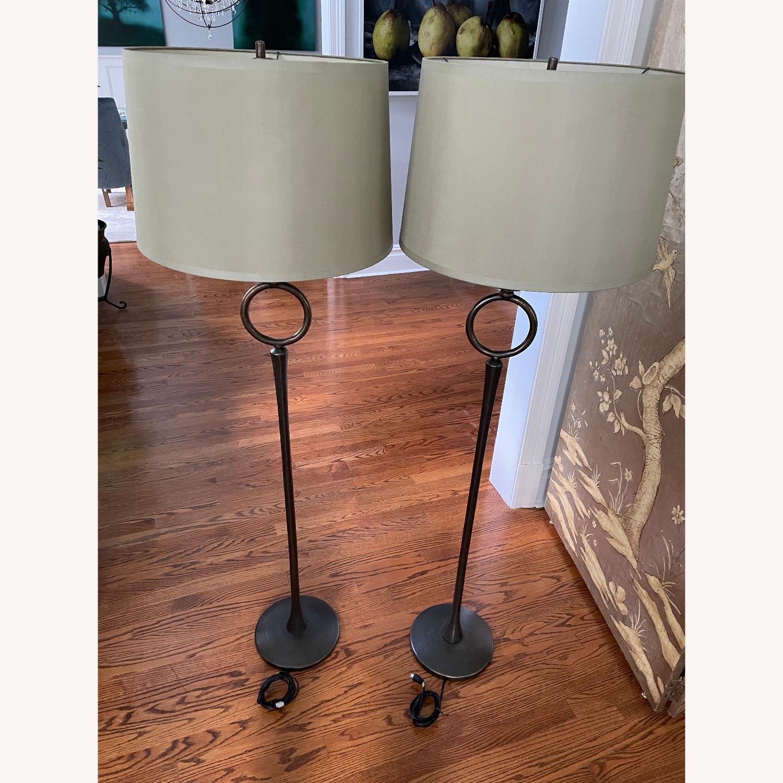 Pottery Barn Floor Lamps (Set of 2) - image-1