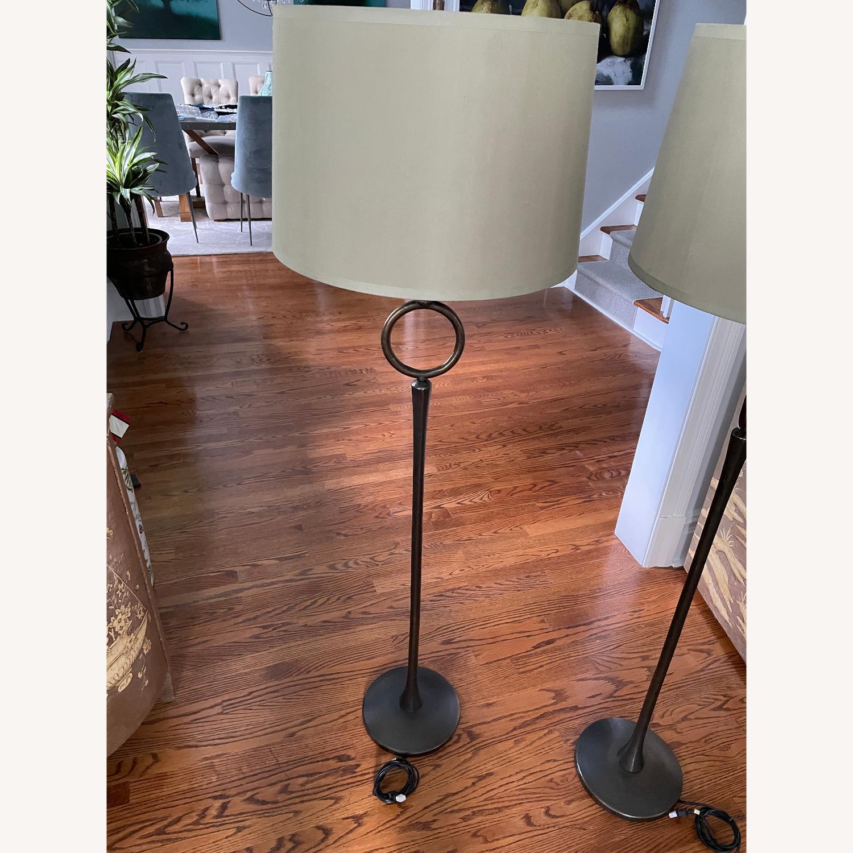 Pottery Barn Floor Lamps (Set of 2) - image-2