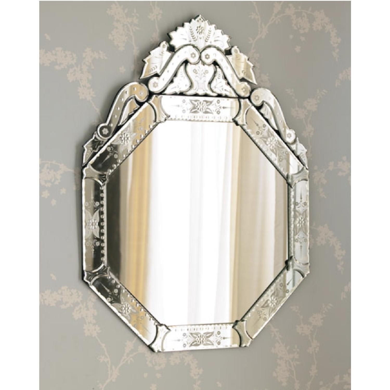 Horchow Venitian Hexagon Mirror - image-4