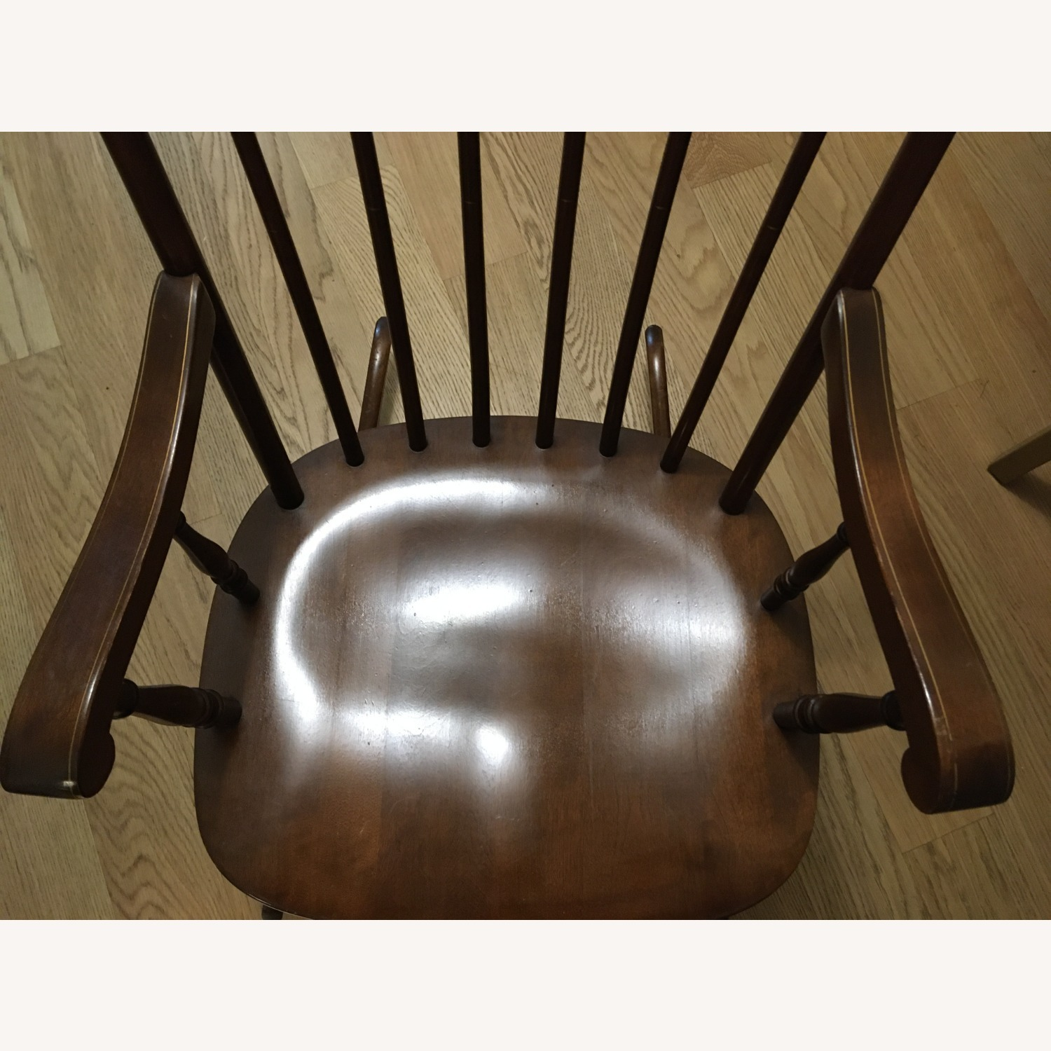 Vintage Rocking Chair with Americana Stenciling - image-7