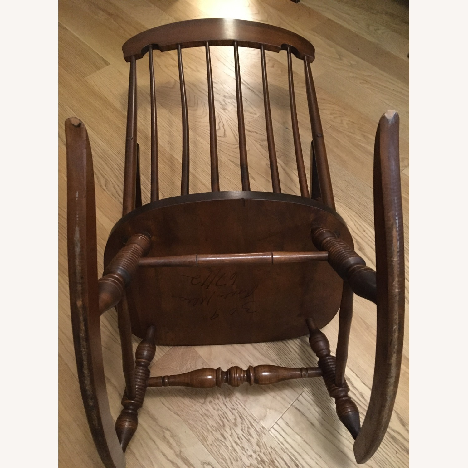 Vintage Rocking Chair with Americana Stenciling - image-10