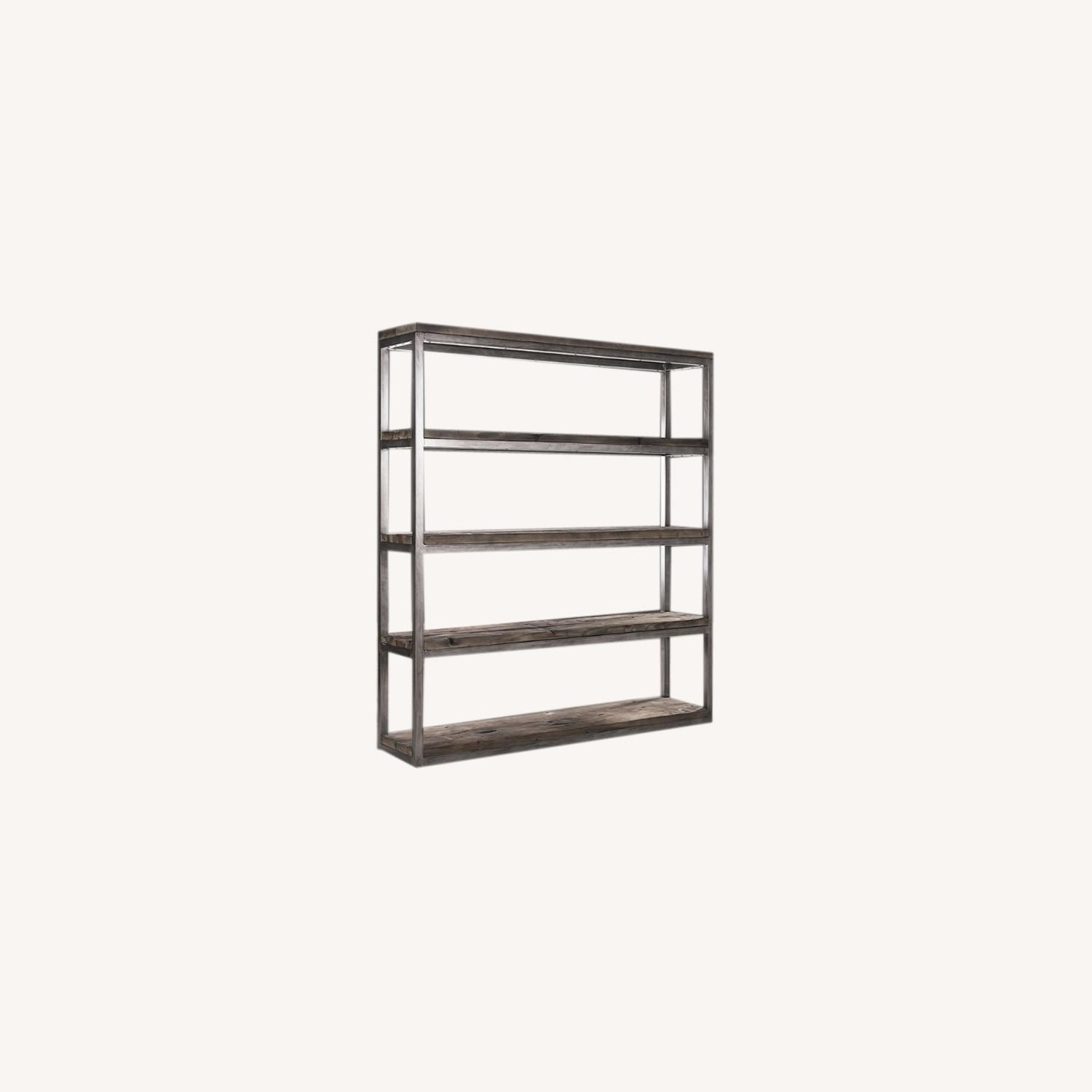Timothy Oulton Wooden Axel Bookcase - image-0