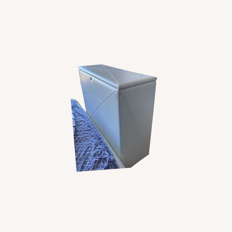 Custom leather automatic TV storage, up to 45 TV - image-0