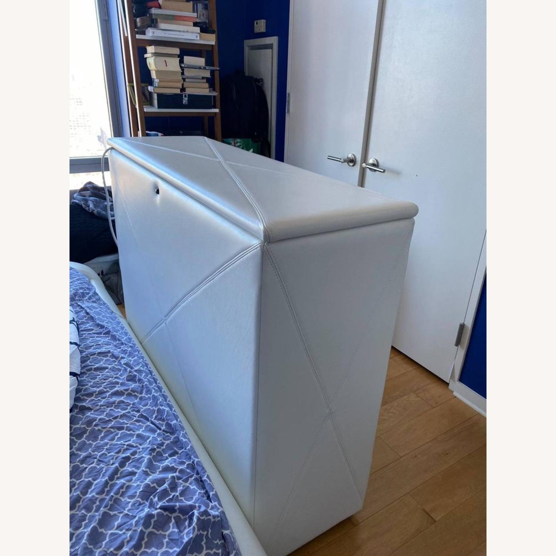 Custom leather automatic TV storage, up to 45 TV - image-2