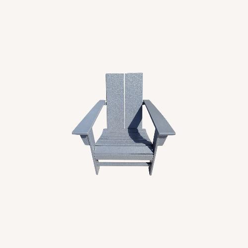 Used Target Gray Adirondack Chairs - Set of 2 for sale on AptDeco