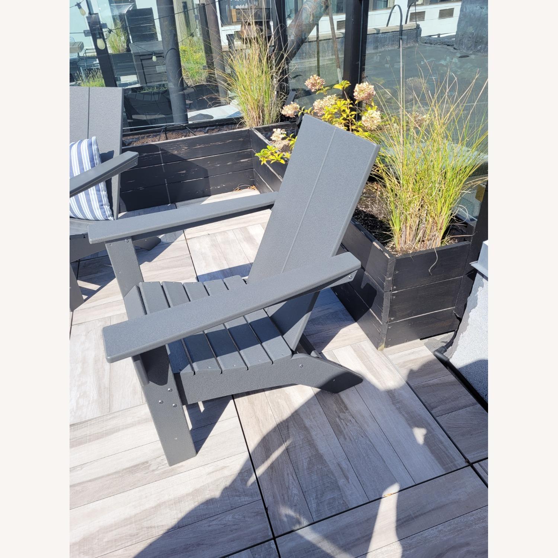 Target Gray Adirondack Chairs - Set of 2 - image-2