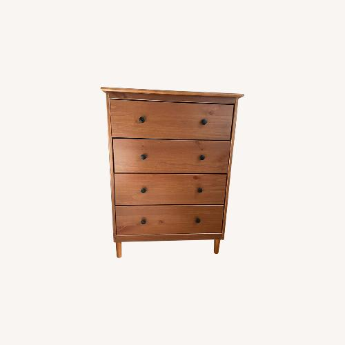 Used Mercury Row Caramel Color Dresser for sale on AptDeco