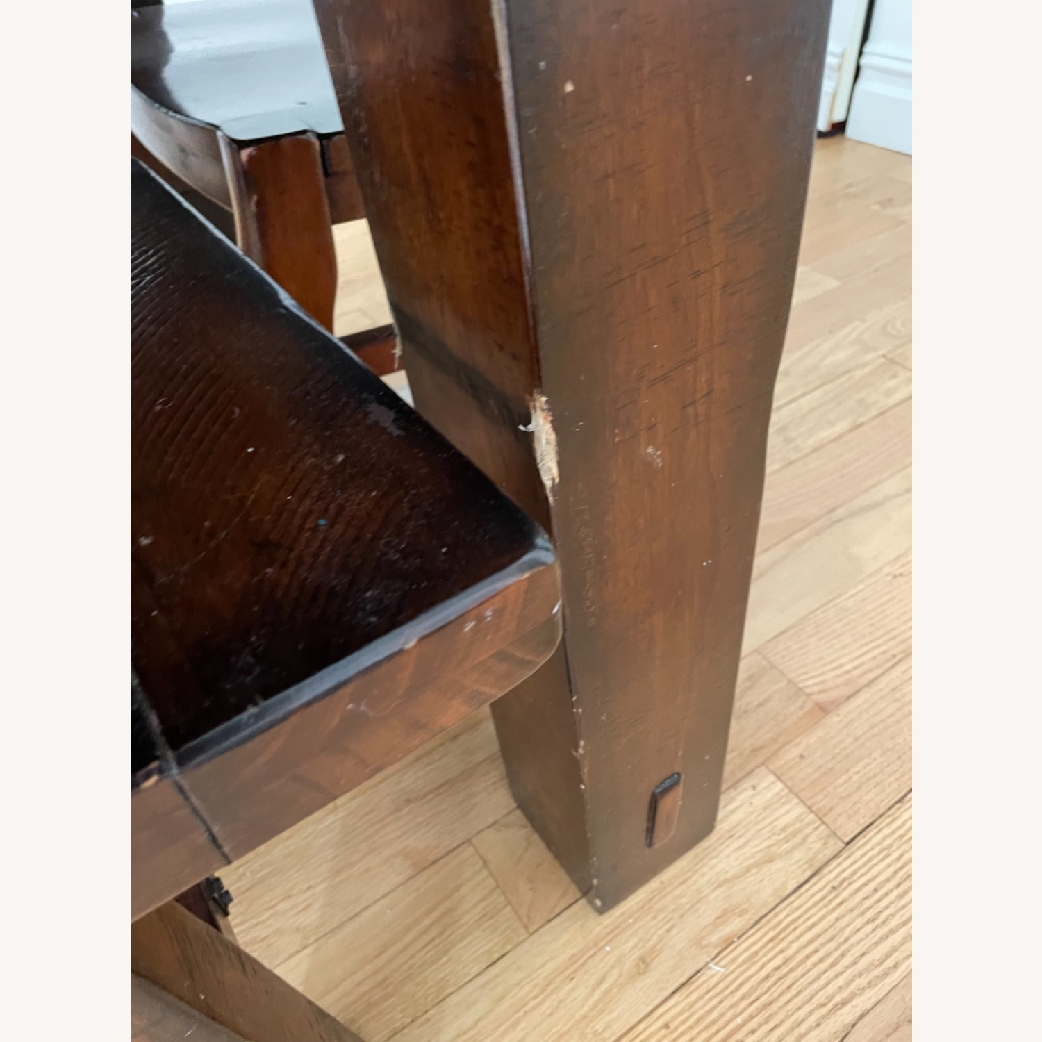 Pottery Barn Benchwright Extension Table Set - image-3