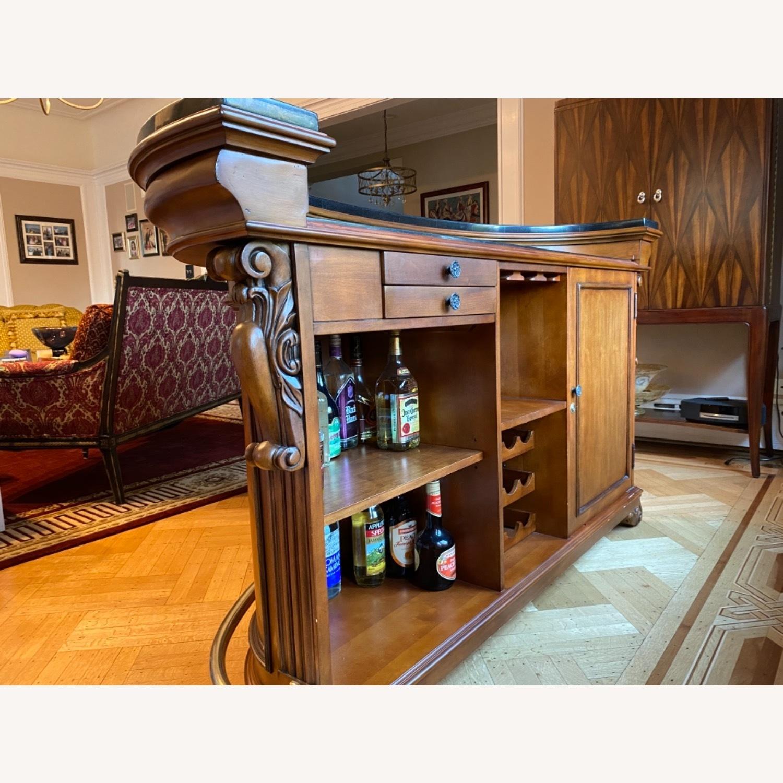 Wooden Bar, Granite Top - image-4