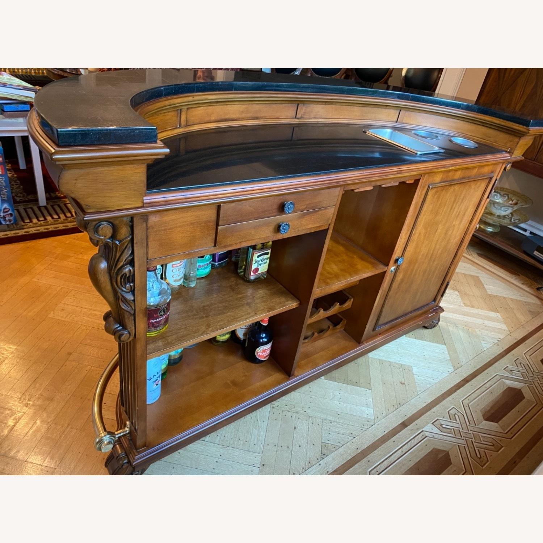 Wooden Bar, Granite Top - image-6
